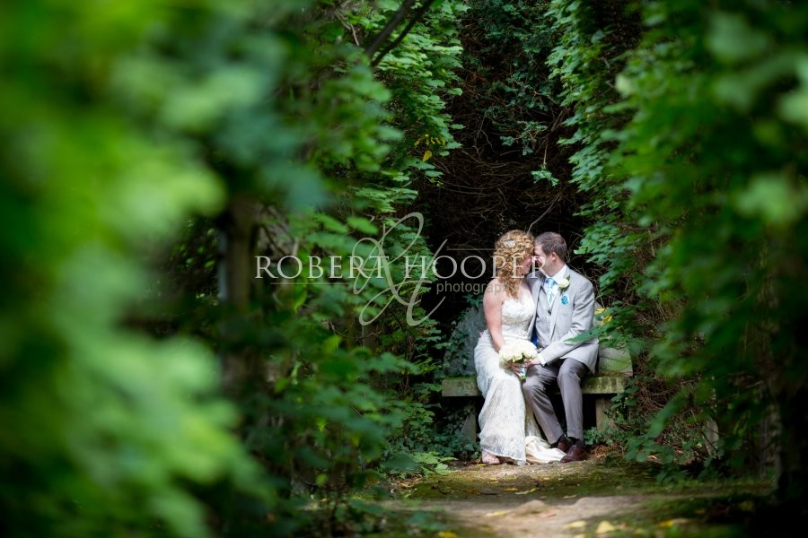 Becky & Elliot's wedding at Langshott Manor